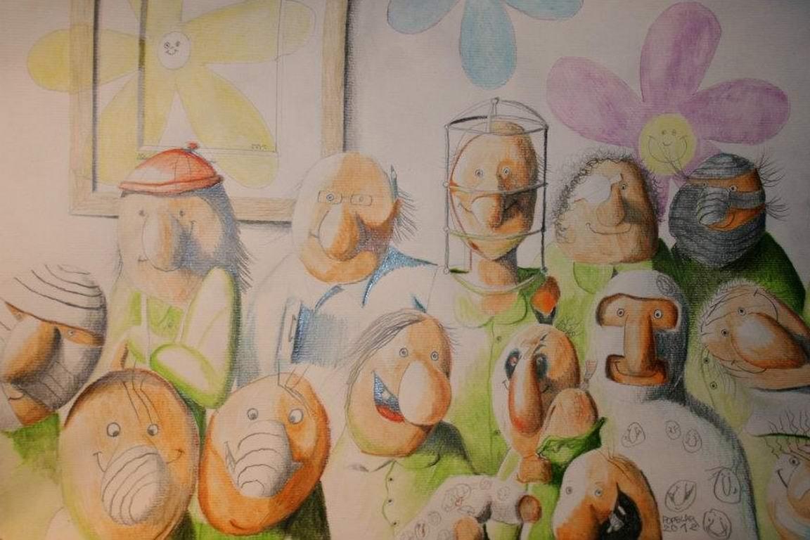 akvarel na papir, 30x42 cm