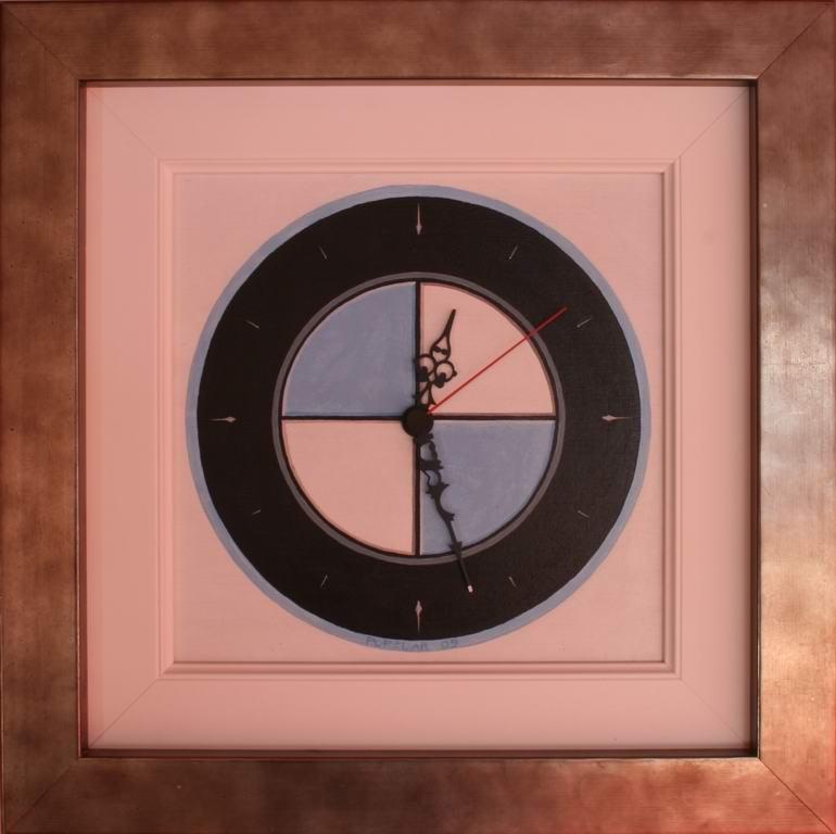 akril na mediapan, 35.5X35.5 cm
